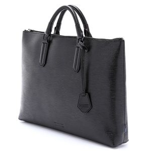 NWT-Ben Minkoff 'Devin' Embossed Leather Briefcase